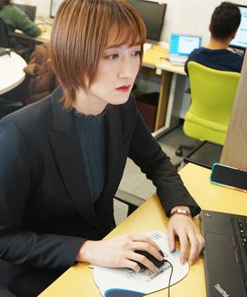 AISのスタッフ NanamiOkada 基本は守りつつ、時代に取り残されないためのスピード感