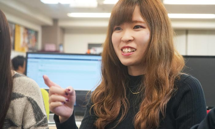 AISのスタッフ YuriReizei 大きな成果も毎日の積み重ねから